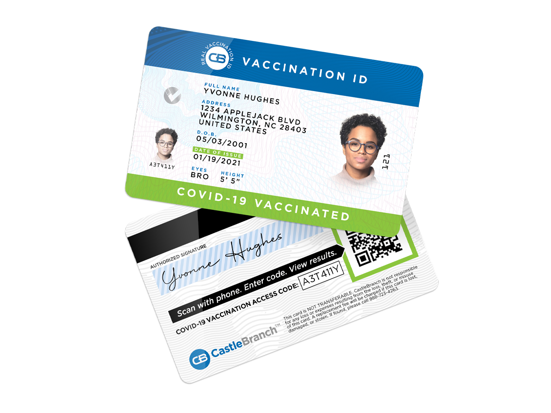 Covid Vaccination ID