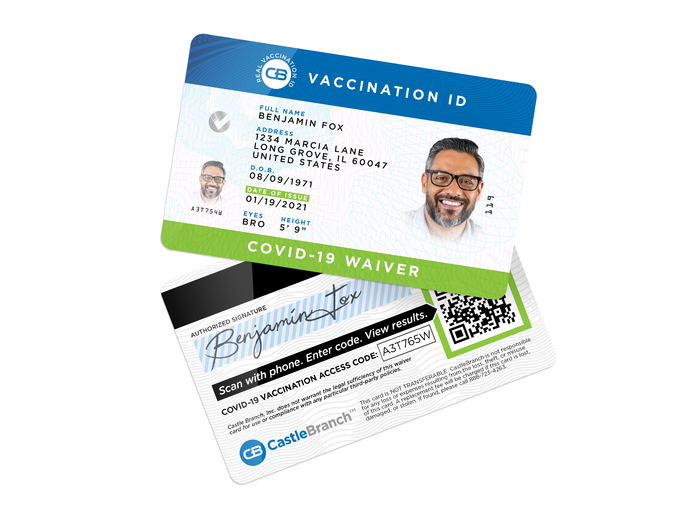 Covid Exempt ID